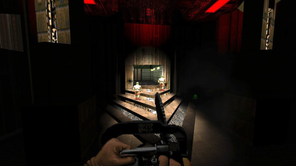gzdoom doom 2 honte remastered mod map01
