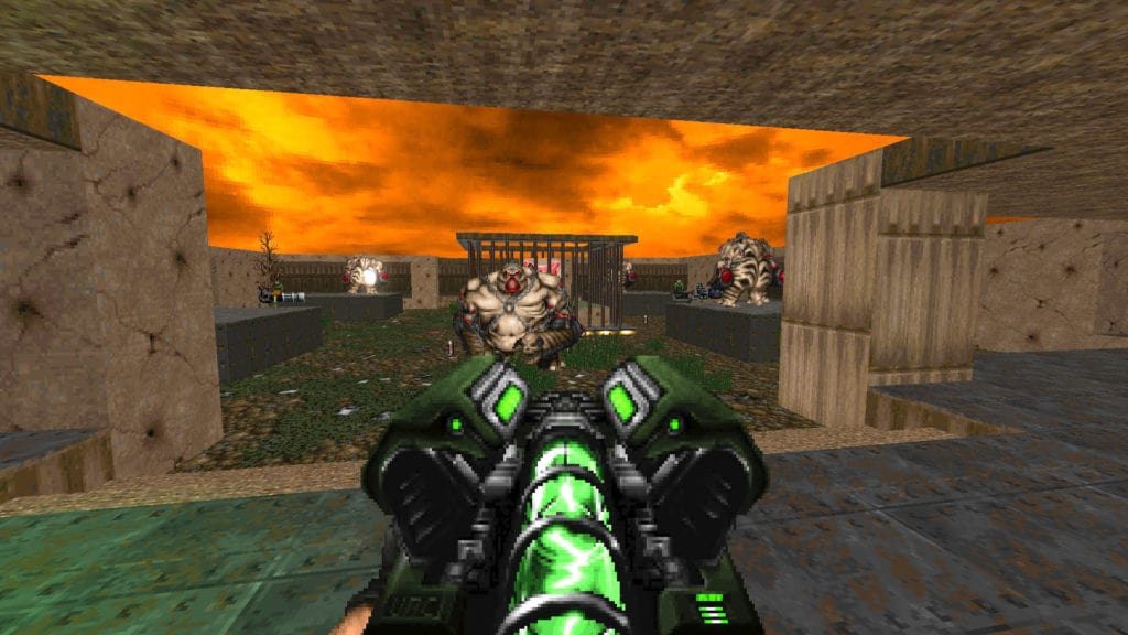 doom 2 map 07 project brutality 3