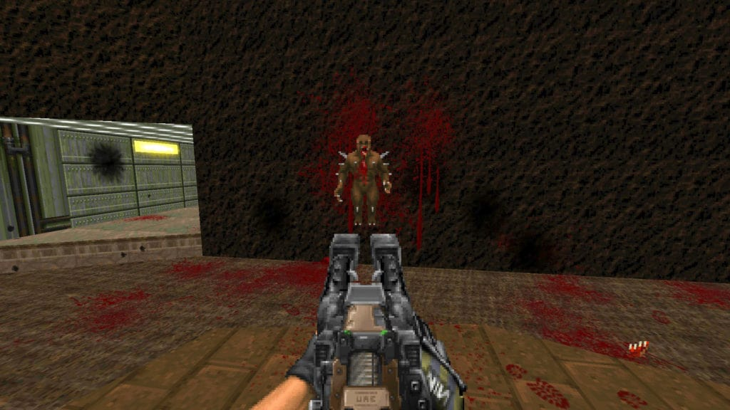 doom 2 nailgun