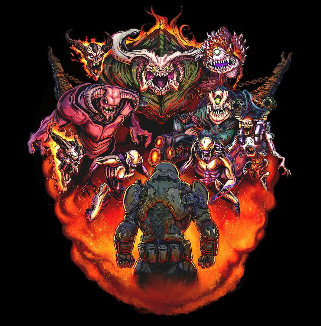 doomguy in hell