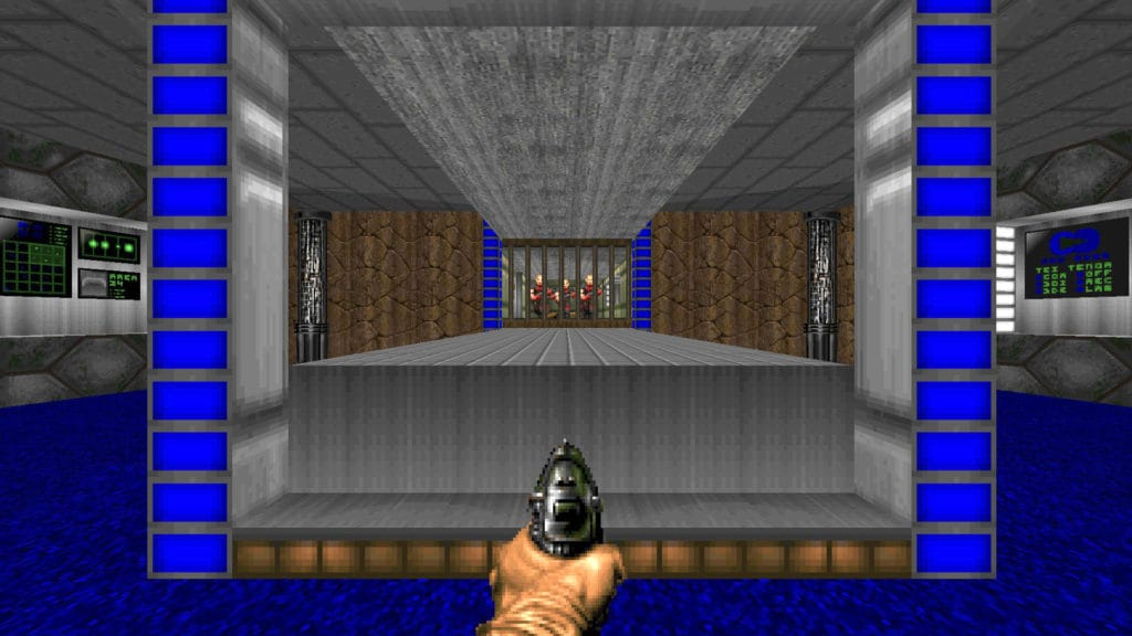 hell revealed doom2 megawad map01
