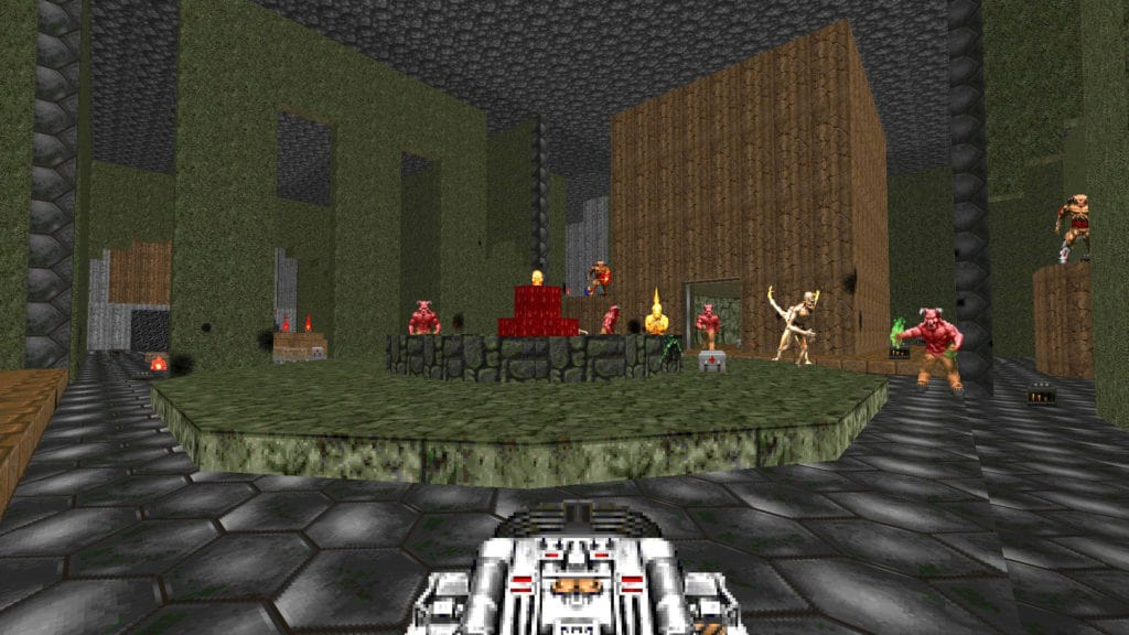 hell revealed doom2 megawad map28