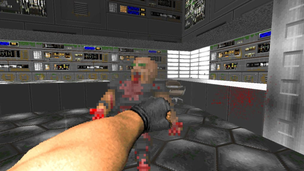 brutal doom beta fist punch