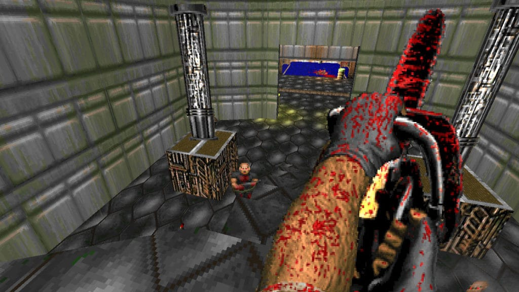 brutal doom chainsaw