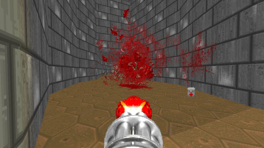 blood mod for doom