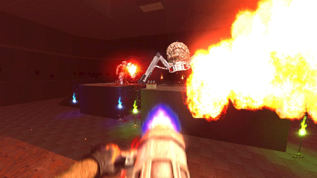 brutal doom black edition flamethrower