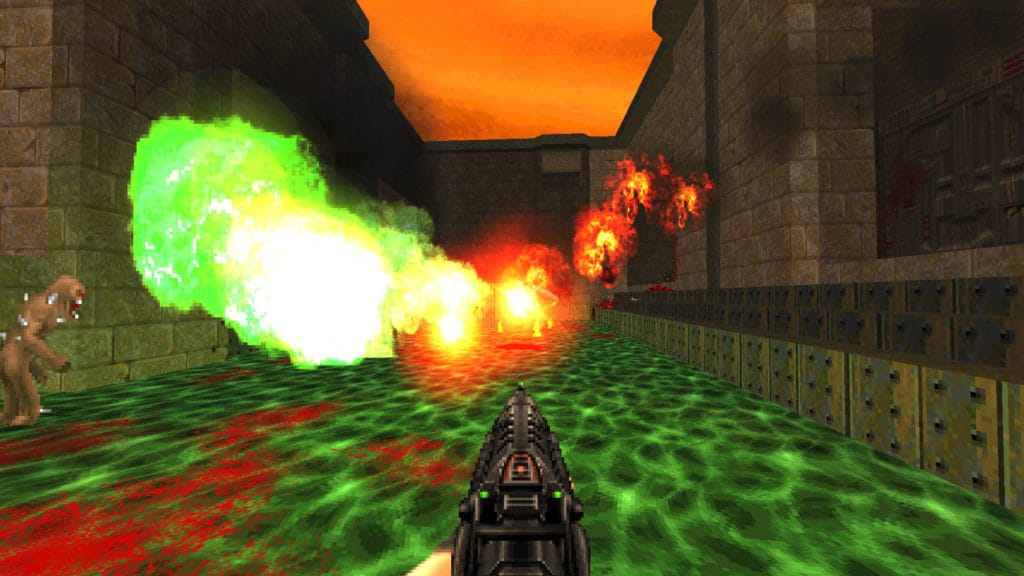 brutal doom black edition light effects
