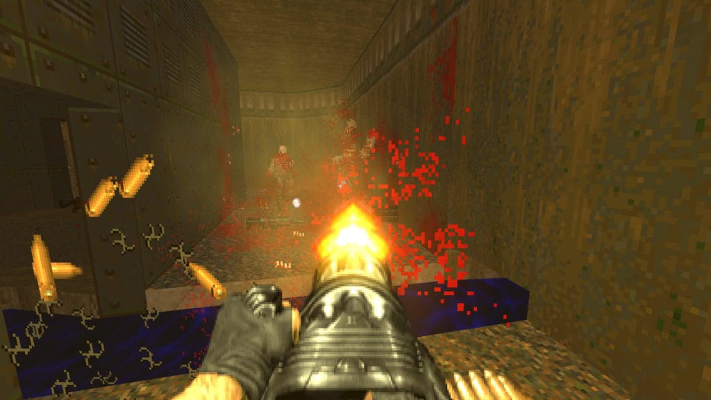 brutal doom black edition minigun