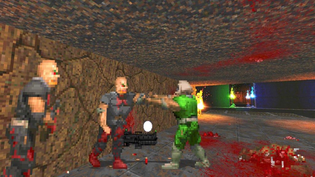 brutal doom black edition zombies