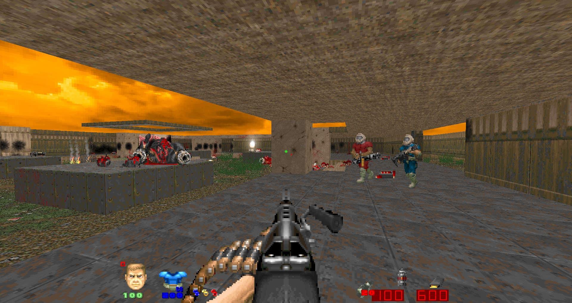 Скачать Brutal Doom v21 RC8 Pre-release • Брутал Дум • Моды