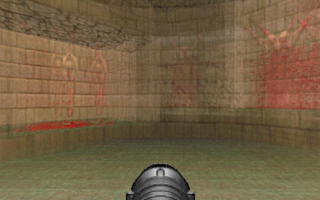 doom retro motion blur effect