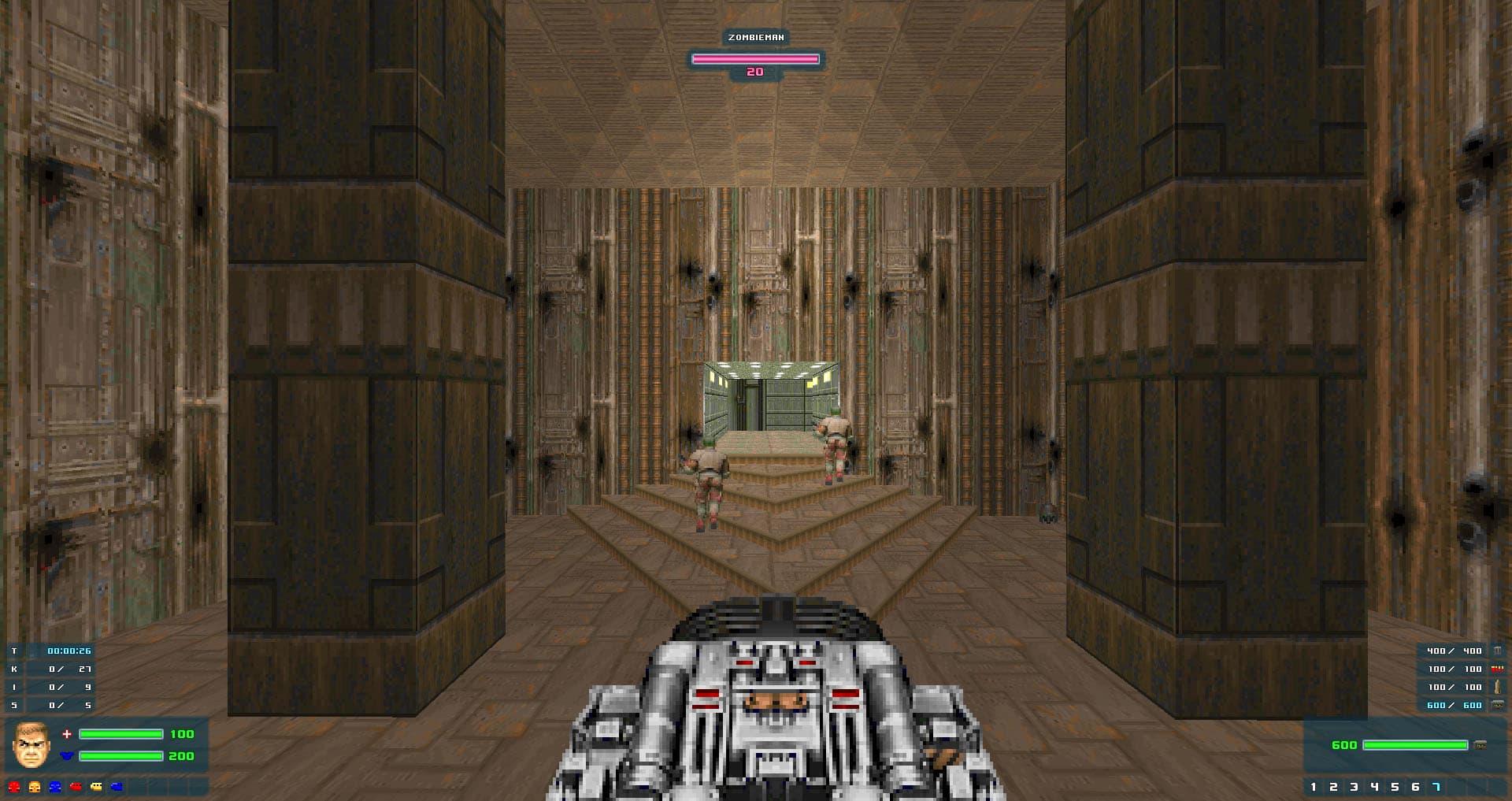 Скачать NC HUD 2 4 0 для Doom • Моды и уровни Doom 1 и Doom