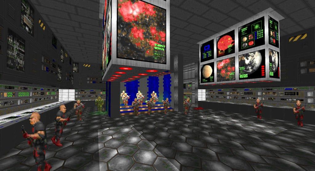 maps of chaos e1m1 doom1
