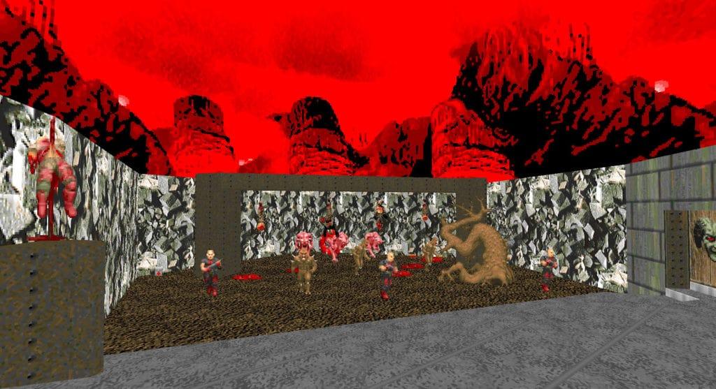maps of chaos e3m1 doom1