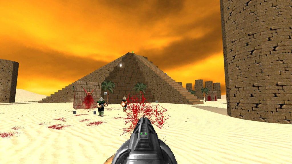brutal doom deathmatch