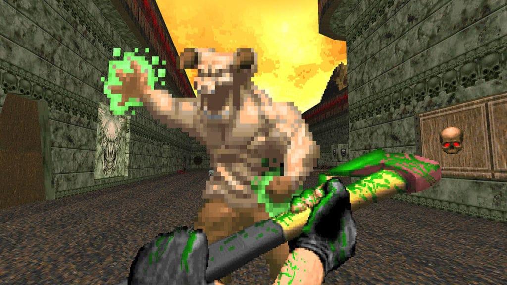brutal doom new axe