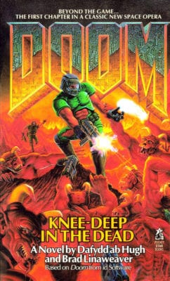 doom1 Knee deep in the Dead book