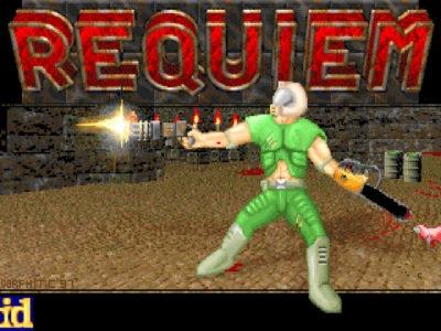 """<span class=""""entry-title-primary"""">Красивый мегавад Requiem для Doom 2</span> <span class=""""entry-subtitle"""">Один из самых эффектных сборников уровней</span>"""