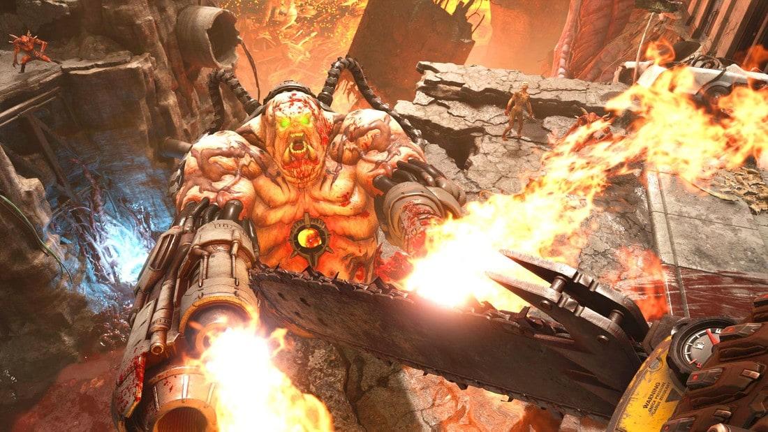doom4 gameplay
