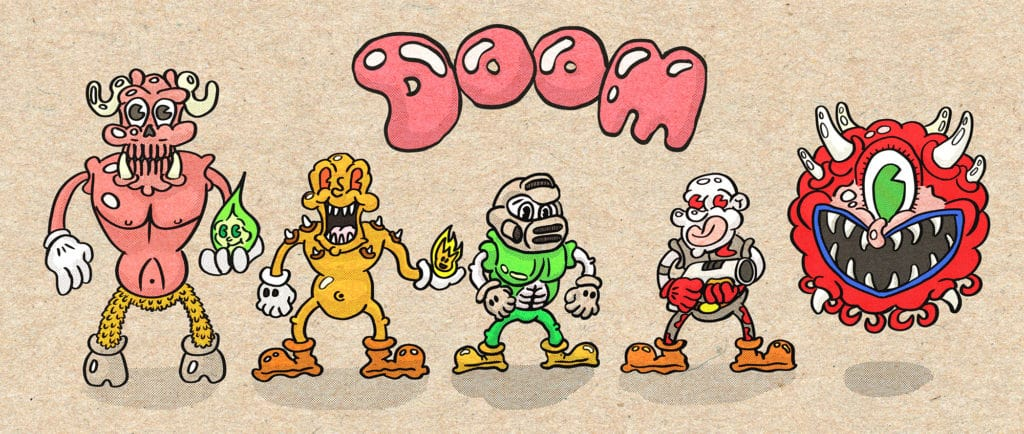 doom cartoon