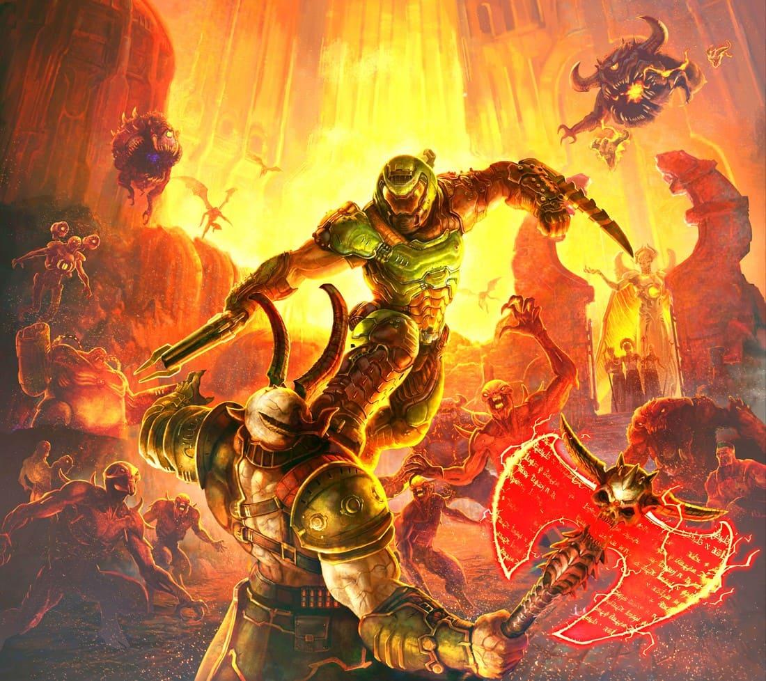 doom slayer vs marauder