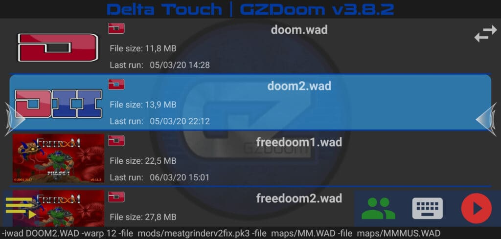 how to play mobile doom 3