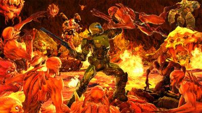 """<span class=""""entry-title-primary"""">Мясной мегавад Slaughterfest 2011 для Doom 2</span> <span class=""""entry-subtitle"""">Ты не Палач! Ты – мясо для демонов!!!</span>"""