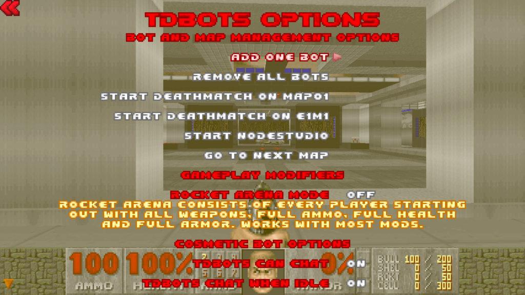 tdbots menu 2